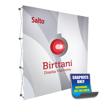 Salto 8ft. | Single-Sided Graphic Print