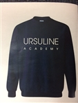 Ursuline navy poodle fleece