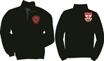 J&B black fleece 1/4 zip