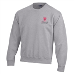Gear® Big Cotton Crew Gray Sweatshirt
