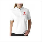 Dennis White Uniform Polo