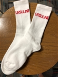 White UA Socks