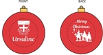 Ursuline Christmas ornament