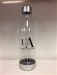 UA clear Tritan 24 oz water bottle