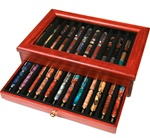 Rosewood Display - 24 Pens