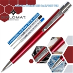 Diplomat Magnum Ball Point Pen - Burned Red