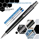 Diplomat Magnum Ball Point Pen - Crow Black