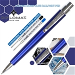 Diplomat Magnum Ball Point Pen - Indigo Blue
