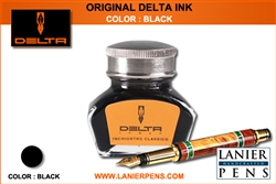 Delta Fountain Pen Ink - Black