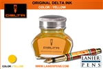 Delta Fountain Pen Ink - Yellow