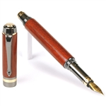 Elite Fountain Pen - Bloodwood
