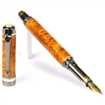 Elite Fountain Pen - Yellow Box Elder