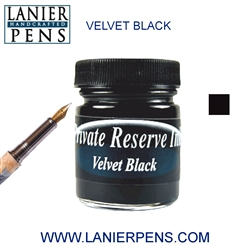 Private Reserve Velvet Black Fountain Pen Ink Bottle 01-VB - Lanier Pens