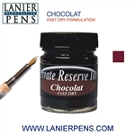 Private Reserve Chocolat Fast Dry Fountain Pen Ink Bottle 32-F-CH - Lanier Pens
