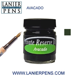 Private Reserve Avocado Fountain Pen Ink Bottle 12-av - Lanier Pens