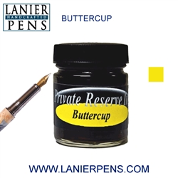 Private Reserve Buttercup Fountain Pen Ink Bottle 10-but - Lanier Pens