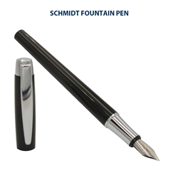 Schmidt Intrinsic Fountain Pen - Black