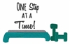 "Koozie-""One Step At A Time""-DO NOT PURCHASE OUT OF STOCK"