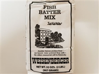 Weisenberger Fish Batter Mix 2 LBS.