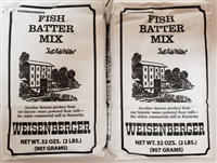 Weisenberger Fish Batter Mix Two Pack