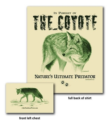 Pursuit of the Coyote Shirt