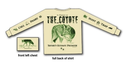 Pursuit of the Coyote Long Sleeve Shirt