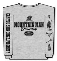 Mountain Man University Sweatshirt