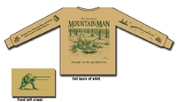 American Mountain Man Long Sleeve Shirt