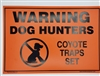 Warning Sign Traps Set
