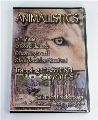 Darin Freeborough -Animalistics - Trapping Eastern Coyotes DVD