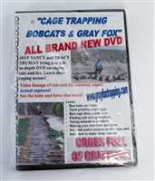 Cage Trapping Bobcats & Gray Fox