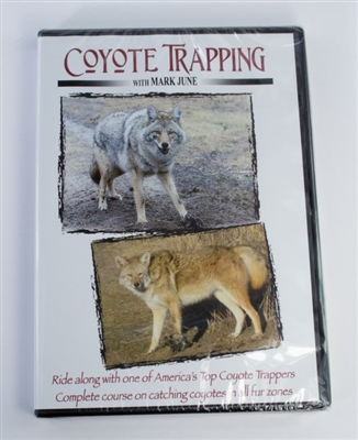 Mark June - Coyote Trapping DVD
