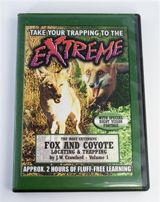 J.W. Crawford - Fox and Coyote Locating & Trapping - Volume I DVD