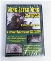 Don Powell - Mink After Mink - A Different Perspective on Mink Trapping DVD