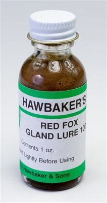 Hawbaker's Red Fox Gland Lure 100