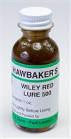 Hawbaker's Wiley Red Lure 500