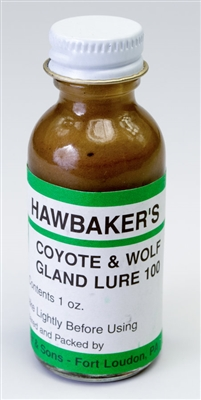 Hawbaker's Coyote & Wolf Gland Lure 100