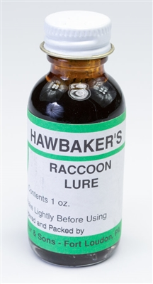 Hawbaker's Raccoon Lure