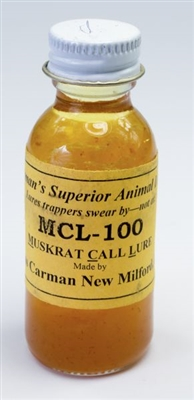 Carman's MCL 100 Muskrat Call Lure
