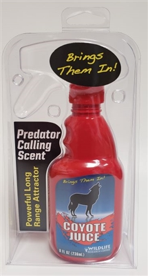 Wildlife Research Coyote Juice Calling Scent