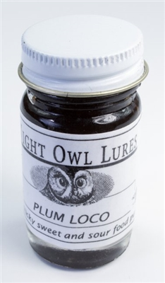 Night Owl Plum Loco Lure