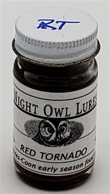 Night Owl Red Tornado Lure