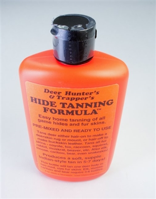 Deer Hunter's & Trapper's Hide Tanning Solution