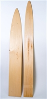 Otter and Bobcat Basswood Stretchers