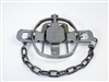 Bridger #1-1/2 Offset Jaw Coil Spring Trap