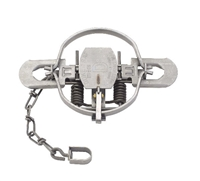 Duke #1-3/4 Regular Jaw Coil Spring Trap for Fox, Mink & Coons