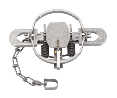 Duke #1-3/4 Offset Jaw Coil Spring Trap Fox & Coyotes
