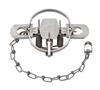 Duke #2 Regular Jaw Coil Spring Trap for Otter, Fox, Bobcat & Lynx