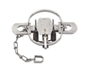 Duke #2 Offset Jaw Coil Spring Trap for Larger Animals