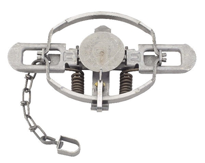 Duke #3 Offset Jaw Coil Spring Trap